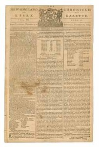The New-England Chronicle: or, The Essex Gazette