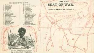 Map of the Seat of War