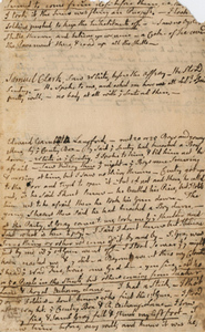 "Notes on the Boston Massacre trials, by John Adams, 1770, ""seemed to come from close before them..."""