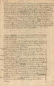 Estimate of damages done during the Siege, list by Jonathan Green, 7 May 1776