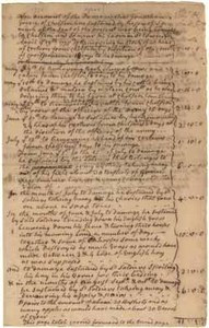 Account of damages done to Jonathan Green during the Siege, [7 May 1776]