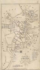 A Plan of Boston, from actual Survey; by Osgood Carleton. 1796