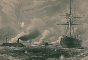 Action between the Merrimac and the Monitor