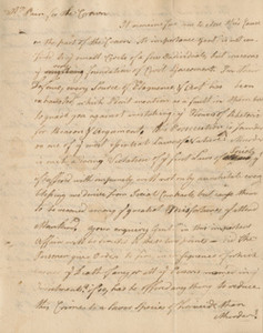Minutes of Robert Treat Paine's argument, by unidentified note taker, 29 October 1770