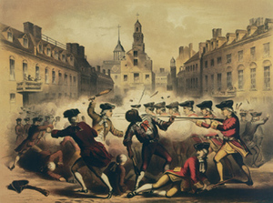 Boston Massacre, March 5th 1770