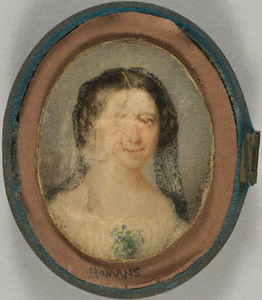 Unidentified young woman from the Homans family