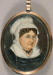 Elderly woman, possibly a member of the Kay family