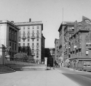 """Beacon St., east from front of State house"""