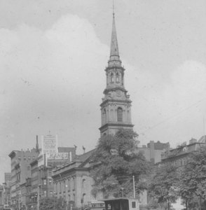 """Arlington St. Church, cor. Arlington & Boylston St."""