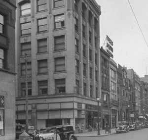 """""""Boylston St. south side, west from Church St."""""""