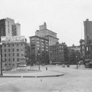 """""""Adams Sq., up from Faneuil Hall Sq."""""""