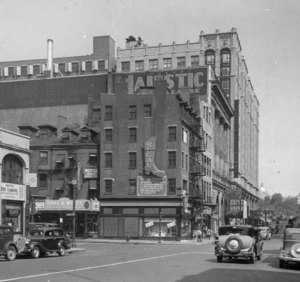 """Tremont St., north from Stuart St."""