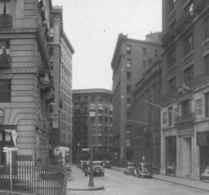 """Beacon St., north from Park St."""