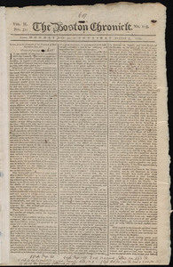 The Boston Chronicle, 31 July -3 August 1769