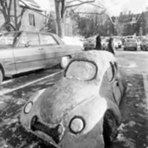 Blizzard of '78 Snow Sculpture