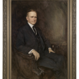 Portrait of the Honorable Calvin Coolidge
