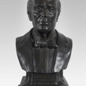 Bust of Charles Edward Forbes