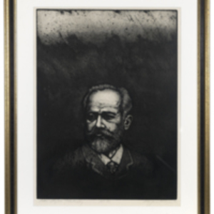 Portait of Piotr Ilyitch Tchaikovsky