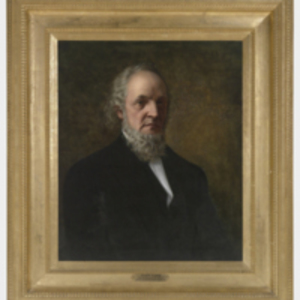 Copy of a Portrait of Pliny Earle by Burleigh