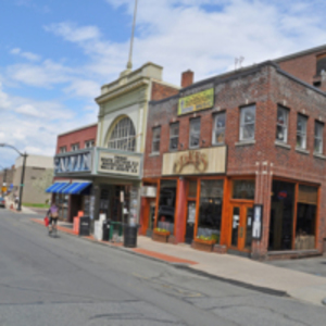 The Calvin Theater and Jake's Restaurant