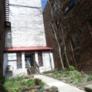 140 Main St. garden space
