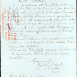 Order 37th Mustered Out June 19, 1865