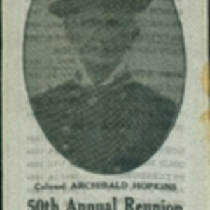 50th Annual Reunion of the 37th Regiment