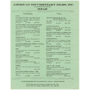 American Documentary Films