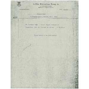 Documents related to Hillcrest Lodge camp
