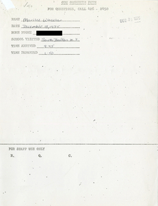 Citywide Coordinating Council daily monitoring report for South Boston High School by Marilee Wheeler, 1975 December 18