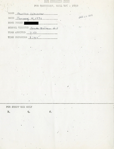 Citywide Coordinating Council daily monitoring report for South Boston High School by Marilee Wheeler, 1976 January 19