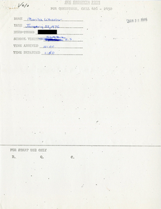 Citywide Coordinating Council daily monitoring report for South Boston High School by Marilee Wheeler, 1976 January 22