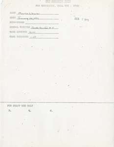 Citywide Coordinating Council daily monitoring report for South Boston High School by Marilee Wheeler, 1976 January 29