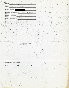 Citywide Coordinating Council daily monitoring report for South Boston High School by Marilee Wheeler, 1976 March 11
