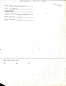 Citywide Coordinating Council daily monitoring report for South Boston High School by Marilee Wheeler, 1976 April 26