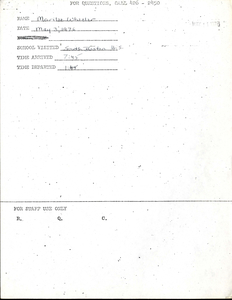 Citywide Coordinating Council daily monitoring report for South Boston High School by Marilee Wheeler, 1976 May 3
