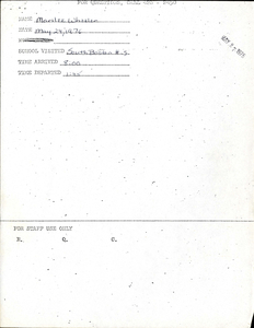 Citywide Coordinating Council daily monitoring report for South Boston High School by Marilee Wheeler, 1976 May 24