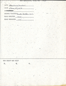 Citywide Coordinating Council daily monitoring report for South Boston High School by Marilee Wheeler, 1976 May 27