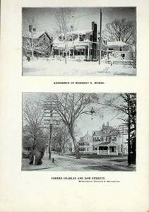 Herbert Morse and Charles Buffington homes