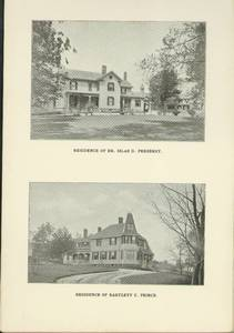 Dr. Silas Presbrey and Bartlett Peirce homes
