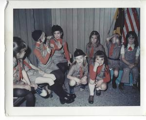 Brownie Troop 615 taken November 1973