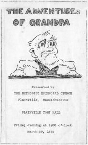 Adventures of Grandpa playbill