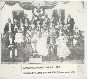 Costumed Production at the Plainville Methodist Church