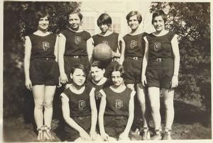 Plainville High School Girls Basketball Team