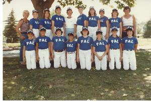 1982 Plainville Athletic League Softball All Stars