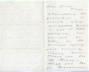 Letters to Mr. & Mrs. E. J. Loomis