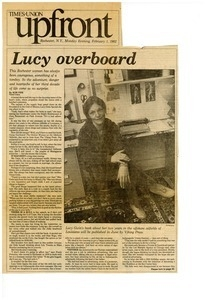 Lucy overboard