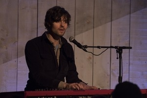 Matt Nakoa (keyboards) performing in concert at the Payomet Performing Arts Center