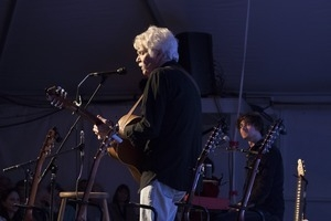 Tom Rush (guitar) and Matt Nakoa (keyboards) performing in concert at the Payomet Performing Arts Center