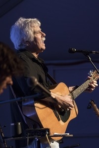 Tom Rush (guitar) performing in concert at the Payomet Performing Arts Center
